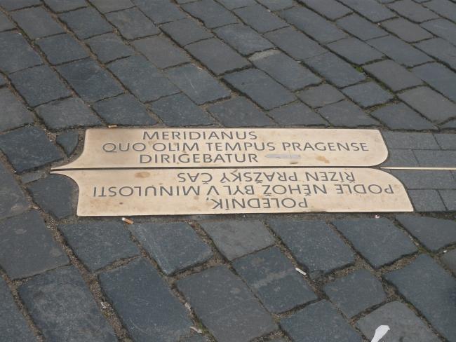 стрелка желаний Прага