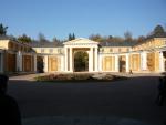 Двор перед дворцом Юсуповых