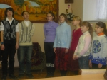 репетиция в актовом зале
