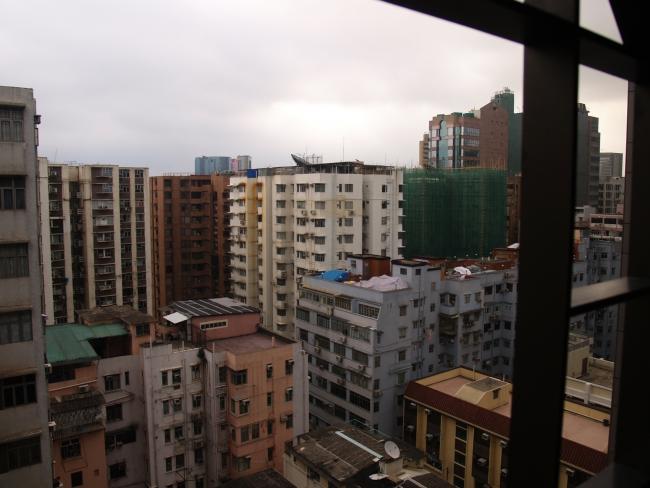 Гон-Конг - город контрастов.