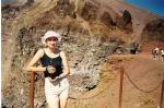 Италия. Кратер вулкана Везувий