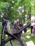 """Руководитель поискового отряда """"Китеж"""" рассказывает о противотанковом еже"""