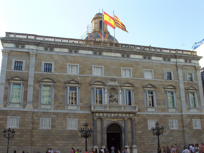 Барселона. Palace De La Generalitat