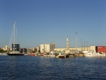 Барселона. С моря