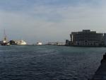 Барселона. Выход в открытое море