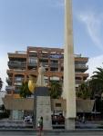 Памятник каталонскому королю-завоевателю Хайме I в г.Салоу откуда он уплыл изгонять арабов с Балеарских островов