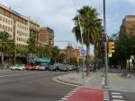 Барселона. Велосипедная дорожка