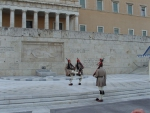Афины. Парламентский дворец. Смена караула