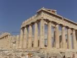 Афины. Акрополис. Парфенон. Реконструкция