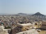 Афины. Панорама города