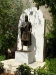 Афины. Памятник последнему византийскому императору Константину Палеологу