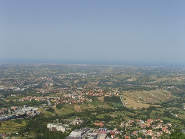 Сан-Марино. Взгляд на Адриатику