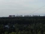 Вид из Дубков ВНИИССОКа на город Власиха