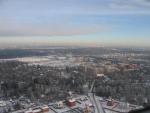 Вид на Лесной городок с неба