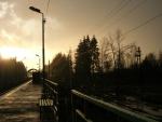 Железнодорожный закат