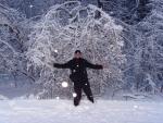 Зима 2011. Мой фотограф и мое щастье))