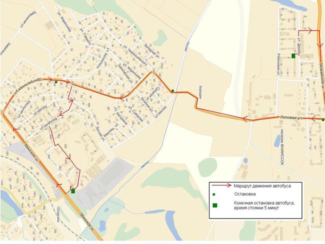 Карта маршрута прилагается: