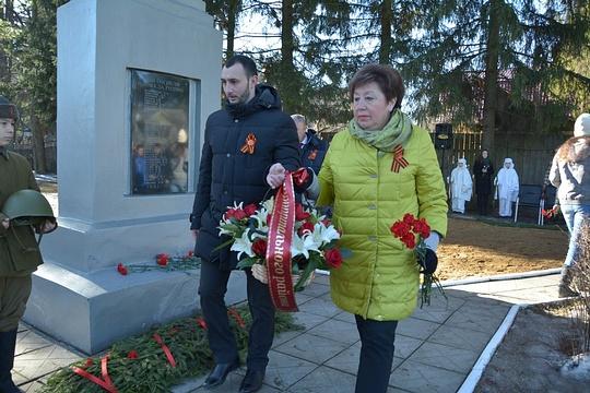 Алексей Солдатенко и Татьяна Одинцова, #СалютПобедe!